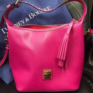 Dooney & Bourke Paige Crossbody Pink